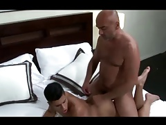 Moaning Sexy Boy gets Horny Beefy Guy' Cock Deep