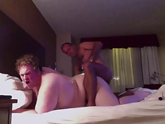 Fit Daddy Breeds Big Pale Twink PussyBoy