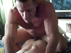 Married Mature Daddy Fucks Gay Bottom