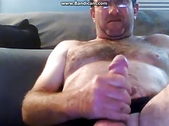 dad's spunk gushes