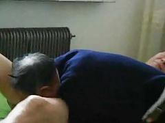 Chinese Grandpa Blowjob