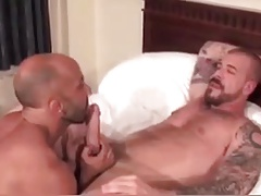 Rocco enjoys lots of younger bare ass