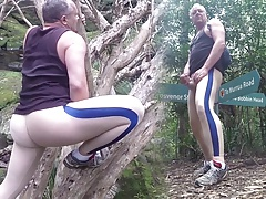 More spandex (and less) in the park