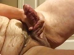 Artemus - Big Tits and Nipple Play Jerks Off Cum