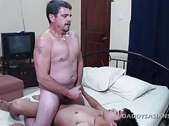 Daddy and Dave Bareback