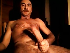 DADDY WORKING HIS COCK