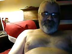 Bear dad Wanking
