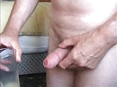 Squirting Grampa 04: The Glass