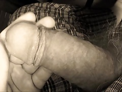 Fumbling my cock