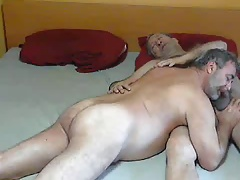 Hot daddies sucking