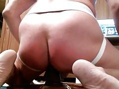dildo popper sissy training with spanking
