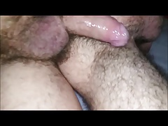 Two Cocks, One Hairy Asshole, and a Whole Lotta Cum