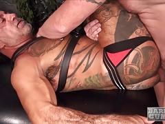 Dalton Hawg and Bo Bangor enjoy dirty raw sex