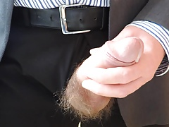 Daddy Cumming at Work