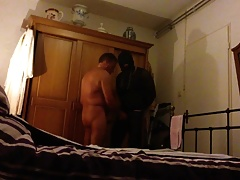 Musclebitch26 sucking daddy dick