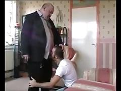 Pleasing my married bear boss