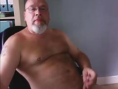Dad Beats Off and Cums