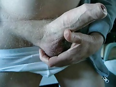 Foreskin stuffed with marbles part 1