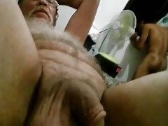 18 year old Louie's cum dripping out of my  ass hole