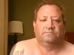 Hot tatooed daddy shooting