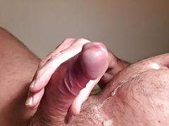 Cumming closeup cock