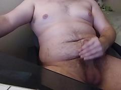 Cub jacking off (with cum)