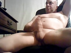 Beefy daddy with big cock