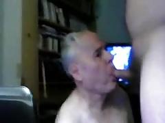 Sexy sweet grandpa cum friend