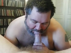 daddy bear blowjob