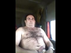 Horny trucker stud