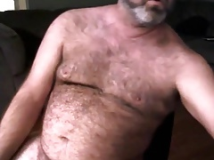 Hot daddy bear shooting