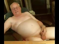 Old cum on cam 9