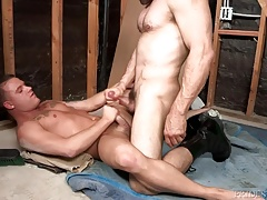 Bratty Brandon Wilde Bottoms for Daddys Thick Cock