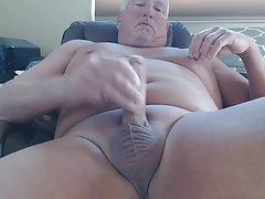 stroking on a horny Saturday
