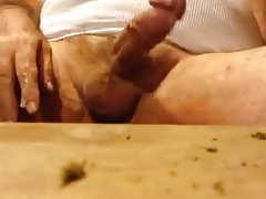 Huge dad huge dick huge cumshot