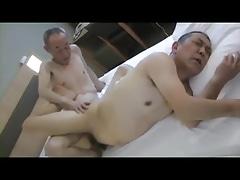 Japan grandpa fucking dad