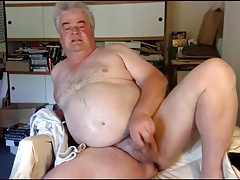 Dad Naked and Showing