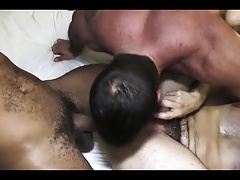big and hairy threesome fuck