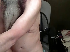 Daddy Felix wanking and cumming