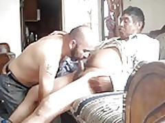 deep blowjob for  grandpa