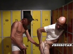 creampie bareback jess royan by straight scally guy