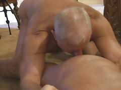 Hot Grandpa ''The General'' Group Sex
