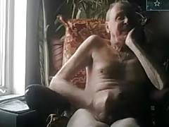 old man jerking off on cam big dick