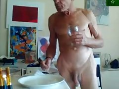 grandfather - breakfast naked
