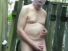 More Outdoor Masturbation