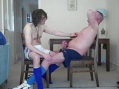Horny dads in footy gear