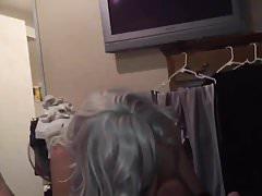 Silver Hair CD Sucks on Toes