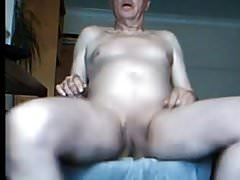 Dad cam wanking and spunking