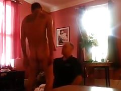 Rentboy Fucks Chubby Older Guy