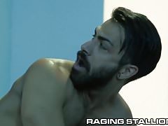 Hot Armenian Daddy Gets Fucked Up By Big Black Dick